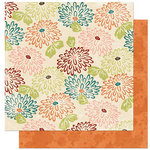 Bo Bunny Press - Olivia Collection - 12 x 12 Double Sided Paper - Olivia Mums