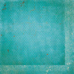 Bo Bunny - Double Dot Designs Collection - 12 x 12 Double Sided Paper - Vintage - Ocean