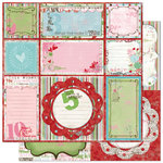 Bo Bunny Press - Persuasion Collection - 12 x 12 Double Sided Paper - Persuasion Cut-Outs