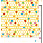 Bo Bunny Press - Popsicle Collection - 12 x 12 Double Sided Paper - Lemonade