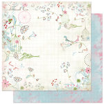 Bo Bunny Press - Persuasion Collection - 12 x 12 Double Sided Paper - Persuasion