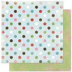 Bo Bunny Press - Persuasion Collection - 12 x 12 Double Sided Paper - Persuasion Dot