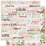 Bo Bunny Press - Persuasion Collection - 12 x 12 Double Sided Paper - Persuasion Moments