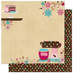 Bo Bunny Press - Sweet Tooth Collection - 12 x 12 Double Sided Paper - Sweet Tooth