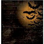 Bo Bunny Press - Spooktastic Collection - 12 x 12 Paper - Spooktastic Batty