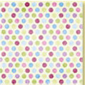 Bo Bunny Press - Patterned Paper - Spring Jewels Polka Dot