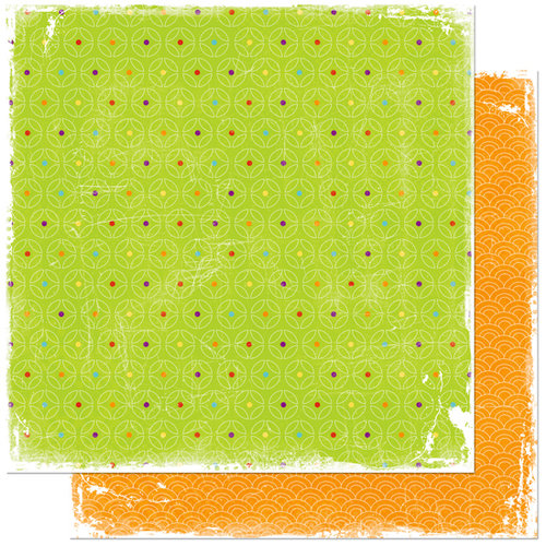 Bo Bunny Press - Sun Kissed Collection - 12 x 12 Double Sided Paper - Sun Kissed Summer