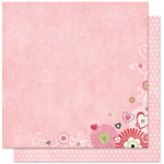 Bo Bunny Press - Sweetie Pie Collection - 12 x 12 Double Sided Paper - Sweetie Pie