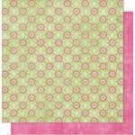 Bo Bunny Press - Sweetie Pie Collection - 12 x 12 Double Sided Paper - Sweetie Pie Squeeze, CLEARANCE