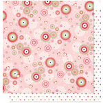 Bo Bunny Press - Sweetie Pie Collection - 12 x 12 Double Sided Paper - Sweetie Pie Swoon, CLEARANCE