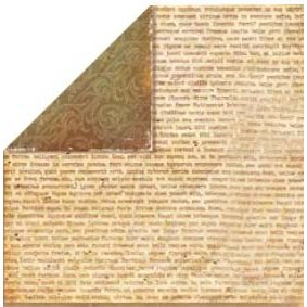 Bo Bunny Press - Bella Journee - Double Sided Paper - Tuscany Collection - Tuscany Prose