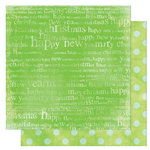Bo Bunny Press - Tis The Season Collection - Christmas - 12 x 12 Double Sided Paper - Tis The Season Carol, CLEARANCE