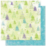 Bo Bunny Press - Winter Joy Collection - Christmas - 12 x 12 Double Sided Paper - Winter Joy Brrrr