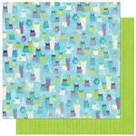 Bo Bunny Press - Winter Joy Collection - Christmas - 12 x 12 Double Sided Paper - Winter Joy Magic