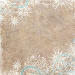 Bo Bunny Press - Winter Whisper Collection - 12 x 12 Paper - Winter Whisper