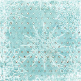 Bo Bunny Press - Winter Whisper Collection - 12 x 12 Paper - Winter Whisper Dot