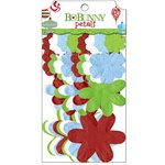 Bo Bunny - Mistletoe Collection - Christmas - Flower Embellishments - Petals