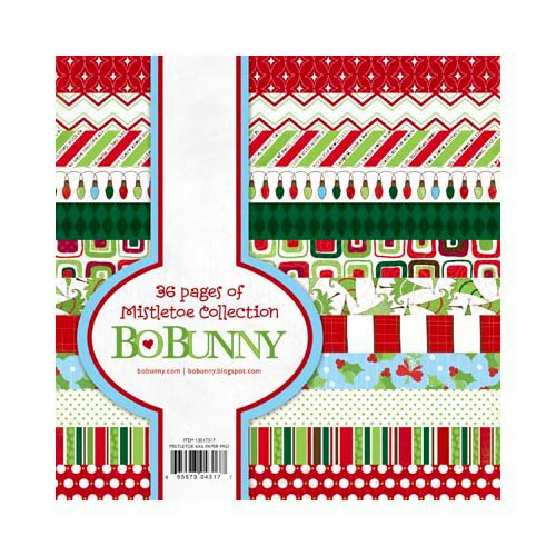 Bo Bunny Press - Mistletoe Collection - Christmas - 6 x 6 Paper Pad