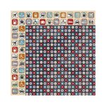 Bo Bunny - Detour Collection - 12 x 12 Double Sided Paper - Dots
