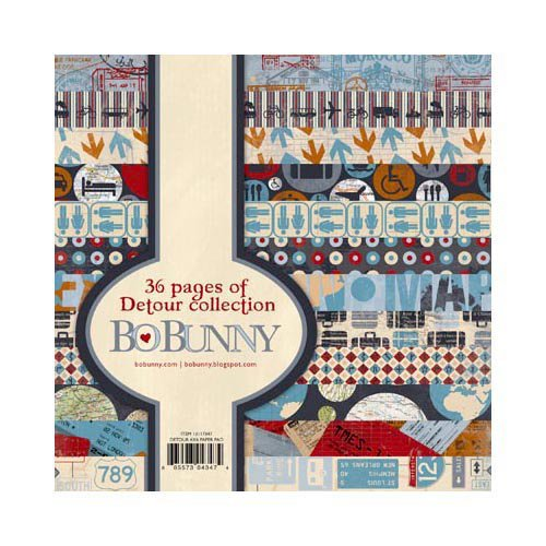 Bo Bunny - Detour Collection - 6 x 6 Paper Pad