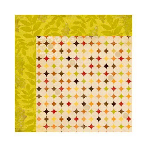 Bo Bunny - Apple Cider Collection - 12 x 12 Double Sided Paper - Afternoon