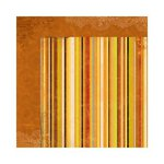 Bo Bunny - Apple Cider Collection - 12 x 12 Double Sided Paper - Stripe