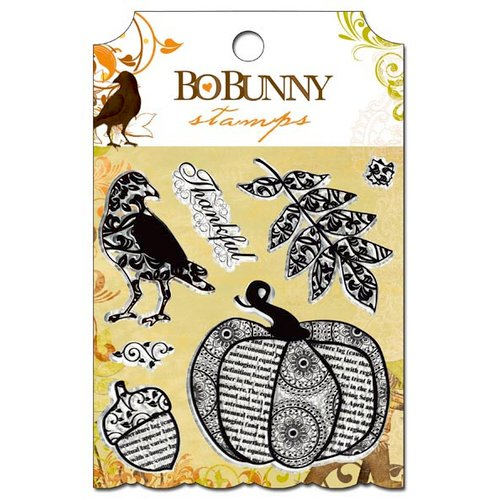Bo Bunny - Apple Cider Collection - Clear Acrylic Stamps
