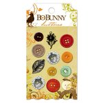Bo Bunny - Apple Cider Collection - Buttons