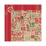 Bo Bunny Press - Rejoice Collection - Christmas - 12 x 12 Double Sided Paper - Days
