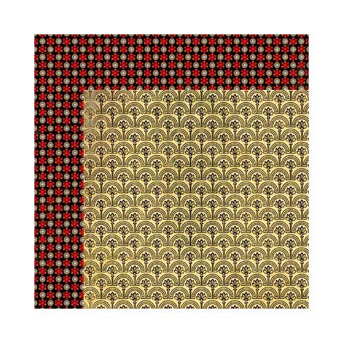 Bo Bunny - Serenade Collection - 12 x 12 Double Sided Paper - Promenade