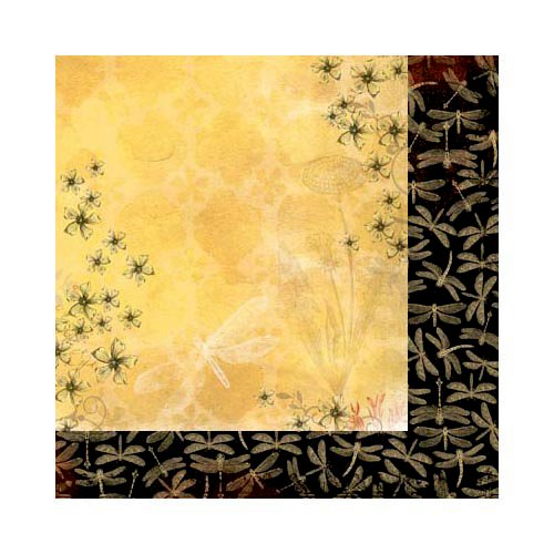 Bo Bunny - Serenade Collection - 12 x 12 Double Sided Paper - Sunrise