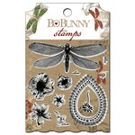 Bo Bunny - Serenade Collection - Clear Acrylic Stamps