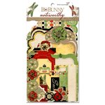 Bo Bunny - Serenade Collection - Note Worthy Journaling Cards