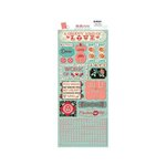 Bo Bunny - Love Letters Collection - Cardstock Stickers - Heart Throb
