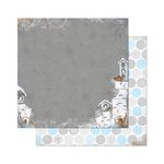 Bo Bunny - Powder Mountain Collection - 12 x 12 Double Sided Paper - Powder Mountain