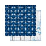 Bo Bunny - Powder Mountain Collection - 12 x 12 Double Sided Paper - Scarf