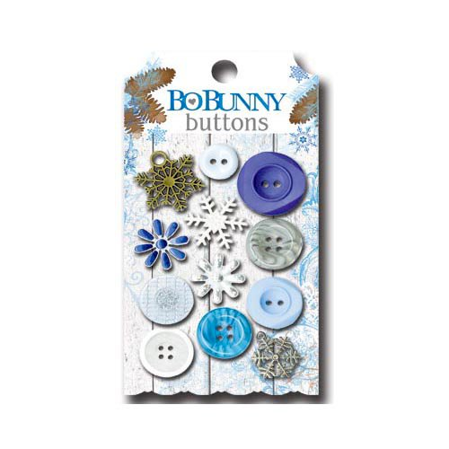 Bo Bunny - Powder Mountain Collection - Buttons