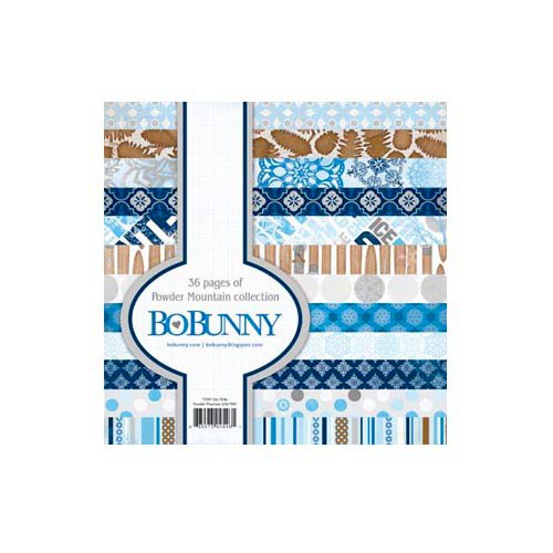 Bo Bunny - Powder Mountain Collection - 6 x 6 Paper Pad
