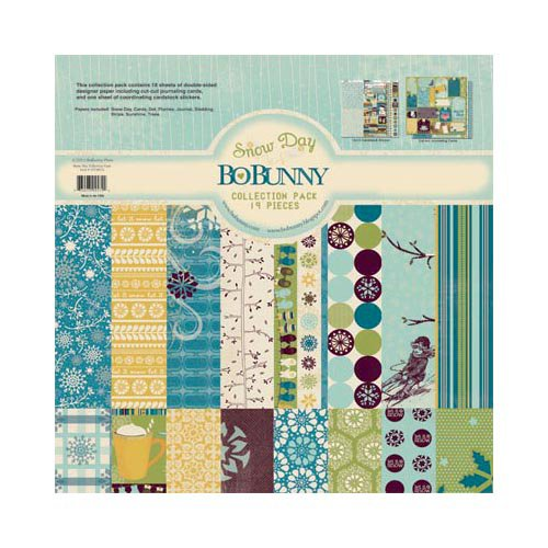 Bo Bunny - Snow Day Collection - 12 x 12 Collection Pack