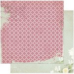 Bo Bunny - C'est la Vie Collection - 12 x 12 Double Sided Paper - La Vie en Rose