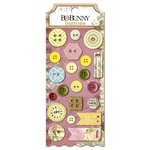 Bo Bunny - C'est la Vie Collection - Buttons