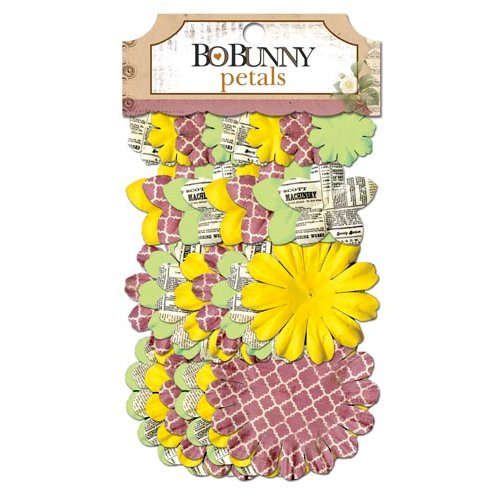 Bo Bunny - C'est la Vie Collection - Flower Embellishments - Petals