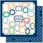 Bo Bunny Press - Family Is Collection - 12 x 12 Double Sided Paper - Me and Mine