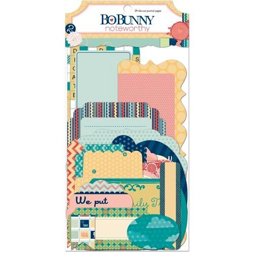 Bo Bunny - Family Is Collection - Noteworthy Journaling Cards