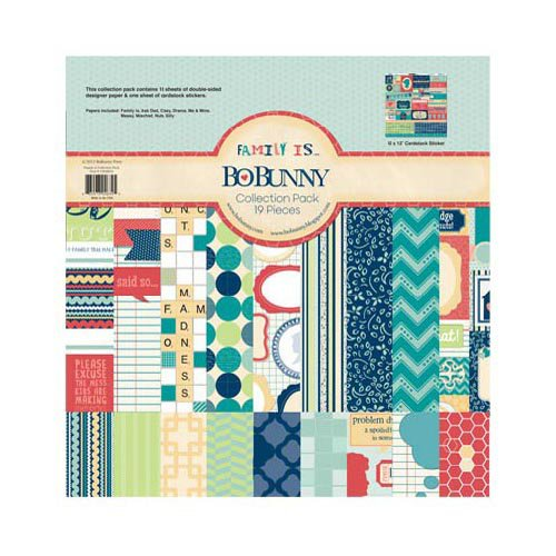 Bo Bunny - Family Is Collection - 12 x 12 Collection Pack