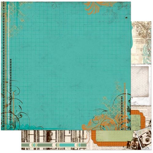 Bo Bunny - Mama-razzi 2 Collection - 12 x 12 Double Sided Paper - Contrast