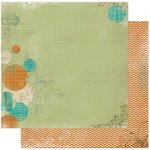Bo Bunny - Mama-razzi 2 Collection - 12 x 12 Double Sided Paper - Sidelighting