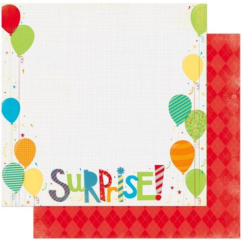 Bo Bunny - Surprise Collection - 12 x 12 Double Sided Paper - Surprise