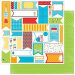 Bo Bunny - Surprise Collection - 12 x 12 Double Sided Paper - Banners