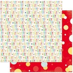 Bo Bunny - Surprise Collection - 12 x 12 Double Sided Paper - Birthday